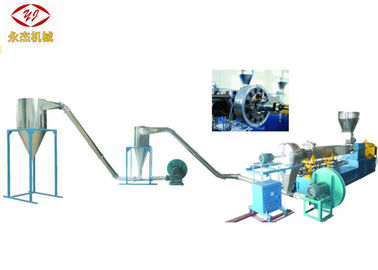 China Air Cooling Twin Screw Plastic Extruder , High Speed WPC Extrusion Machine supplier