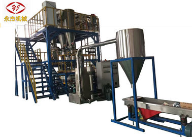 China Automatic Feeding Masterbatch Extruder , 2 Stage Hdpe Extrusion Machine supplier