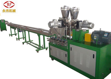 China Double Screw Extruder PET Pelletizing Machine 10-20kg/H Capacity Energy Saving supplier