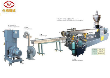 China PET Bottle Recycling PET Pelletizing Line With Screw Feeding Machine 400kg/H supplier
