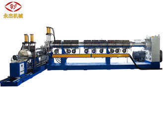 China Single - Single Screw Two Stage Extruder Air Cooling Die Face Cutting Way supplier
