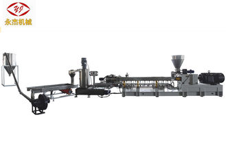 China PE PP Black Color Masterbatch Production Twin Screw Extruder 315kw supplier