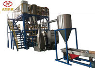 China Automatic Feeding Masterbatch Extruder , 2 Stage Hdpe Extrusion Machine company