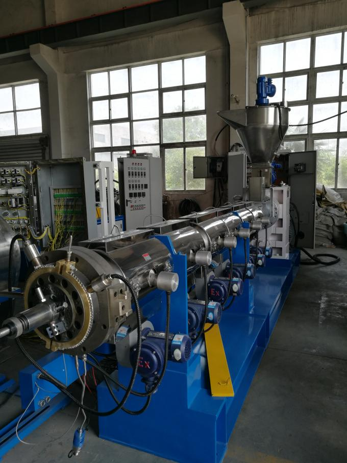 High Performance Single Screw Extruder Machine Long Working Life 200kg/H