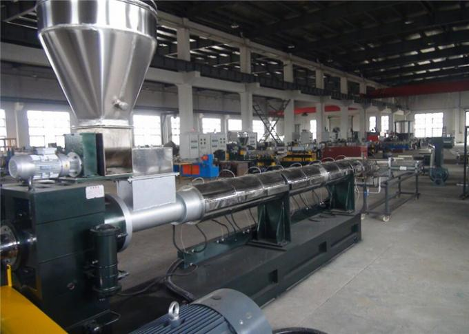 Single Screw Polymer Extrusion Machine With Automatic Screen Changer 300-400kg/H