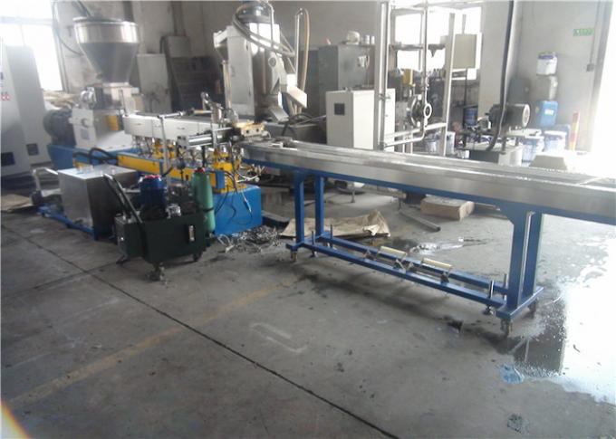 90kw Power Polymer Extruder Plastic Pelletizing Machine Fatigue Resistant