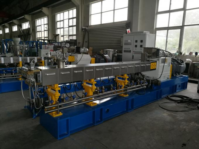 PA + Glass Reinforcement Twin Screw Extruder Machine With Vacuum Venting System