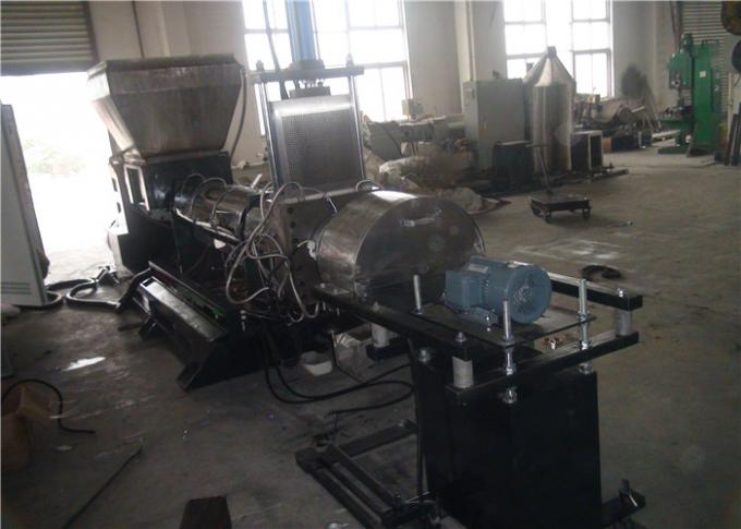 Water Ring Die Face Cutting Waste Plastic Extruder PET Recycling Machine Energy Saving