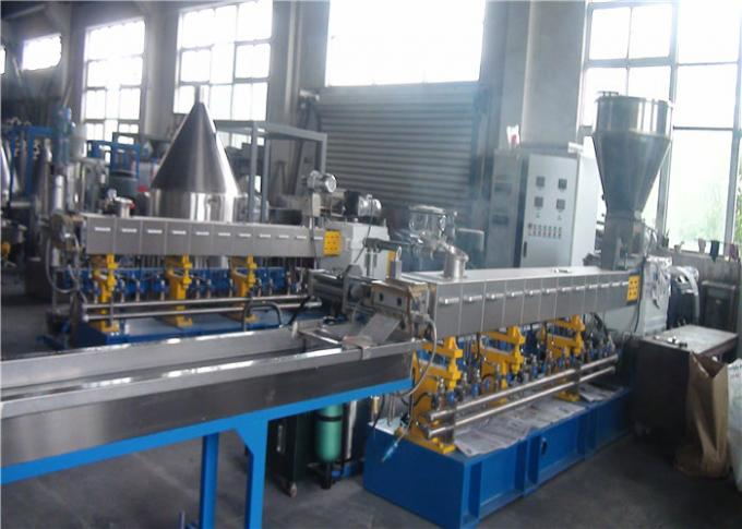 Automated Plastic Pelletizing Equipment PET Extrusion Line Environmental Friendly