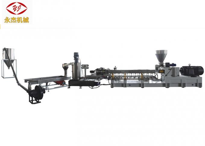 PE PP Black Color Masterbatch Production Twin Screw Extruder 315kw