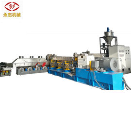 High Efficiency PE Pelletizing Machine , PET Extruder Machine One Year Warranty