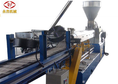 China Corn Starch Biodegradable Plastic Pellet Making Machine , PP Extruder Machine 90kw factory