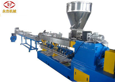China PE PP ABS Polymer Extruder Machine , 75kw Master Batch Making Machine factory